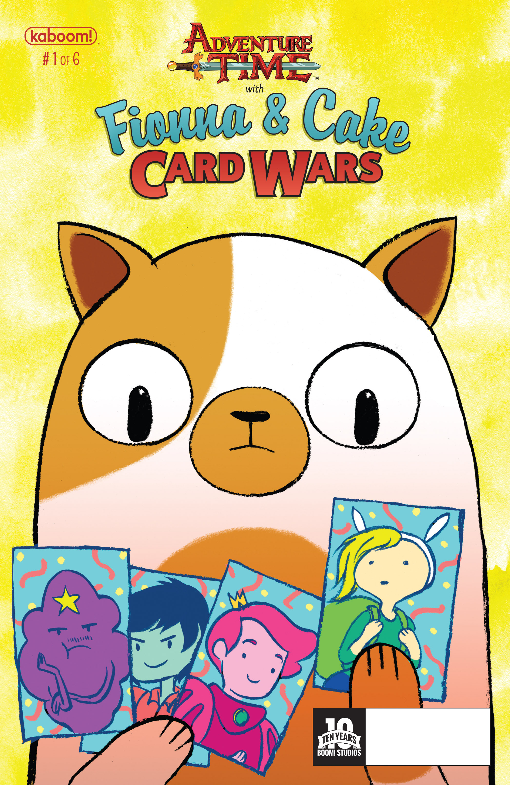 Read online Adventure Time Fionna and Cake Card Wars comic -  Issue #1 - 1