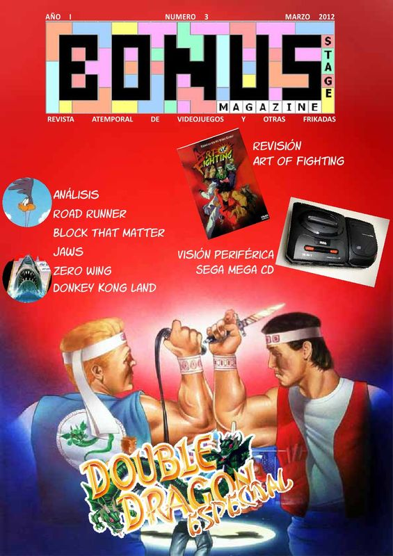 Bonus Stage Magazine #03 Especial Double Dragon (03)