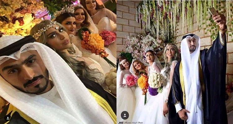 كويتي يتزوج من أربعة نساء في ليلة واحدة فحصلت له في الصبحية مفاجأة أغرب من الخيال