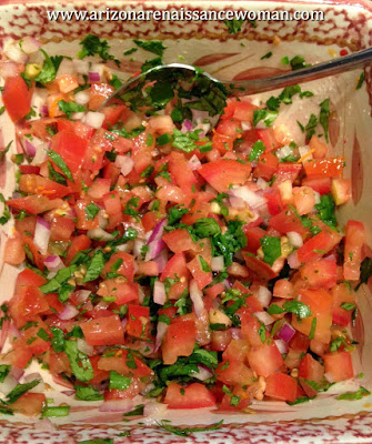 Citrus Pico de Gallo for Ground Beef Tacos with Tangelo Adobo Sauce