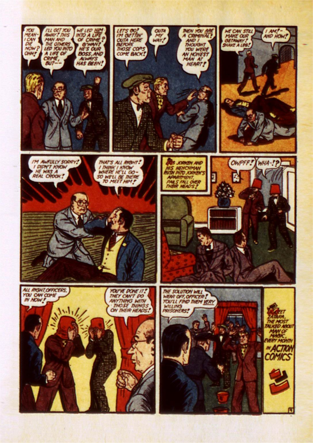 Read online Action Comics (1938) comic -  Issue #50 - 73