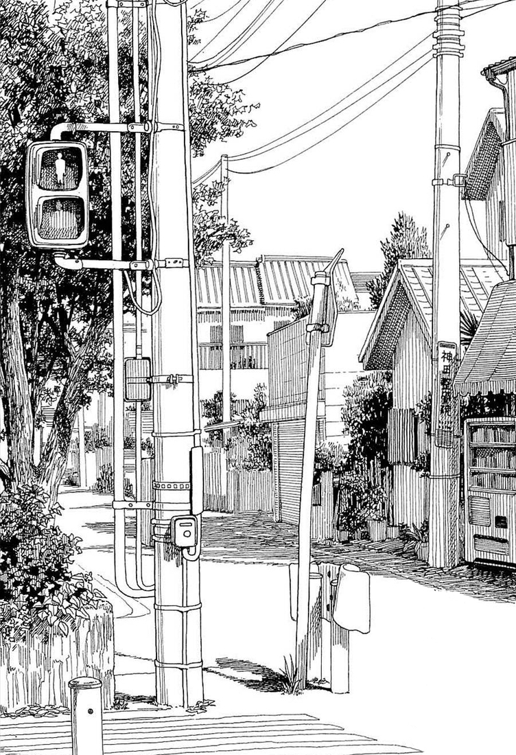 16-Kiyohiko-Azuma-Architectural-Urban-Sketches-and-Cityscape-Drawings-www-designstack-co