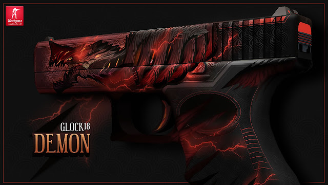 Workshop Warsztat Steam CS GO - Glock-18 | Demon