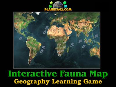 Интерактивна Карта на Световна Фауна