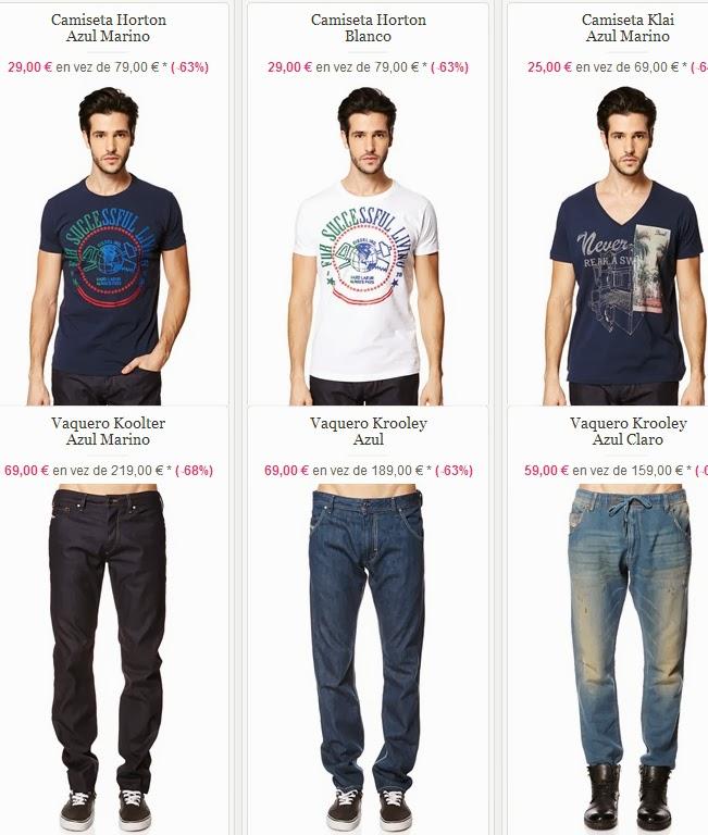 102244913 Camisetas y vaqueros de Diesel por mucho menos | Hombres Ropa, la ...