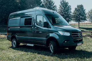 Mercedes-Benz Sprinter 4x4 Hymercar Grand Canyon S Prototype (2019) Front Side 1