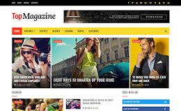 TopMagazine 2 Columns blogger template