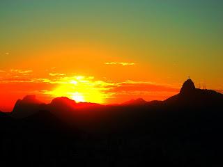 Pôr do Sol no Morro da Urca, Rio de Janeiro