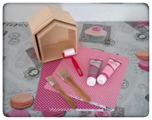 ♥ DIY : Les étagères maison girly ♥