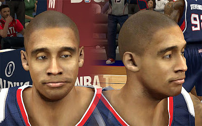 NBA 2K13 Dahntay Jones Cyberface Patch