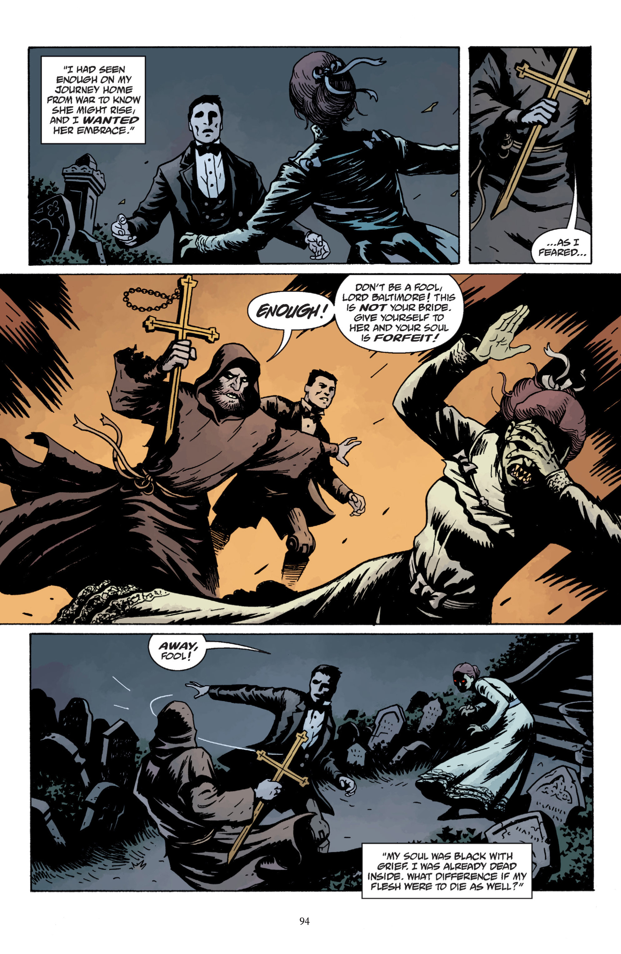 Read online Baltimore: The Plague Ships comic -  Issue # TPB - 94