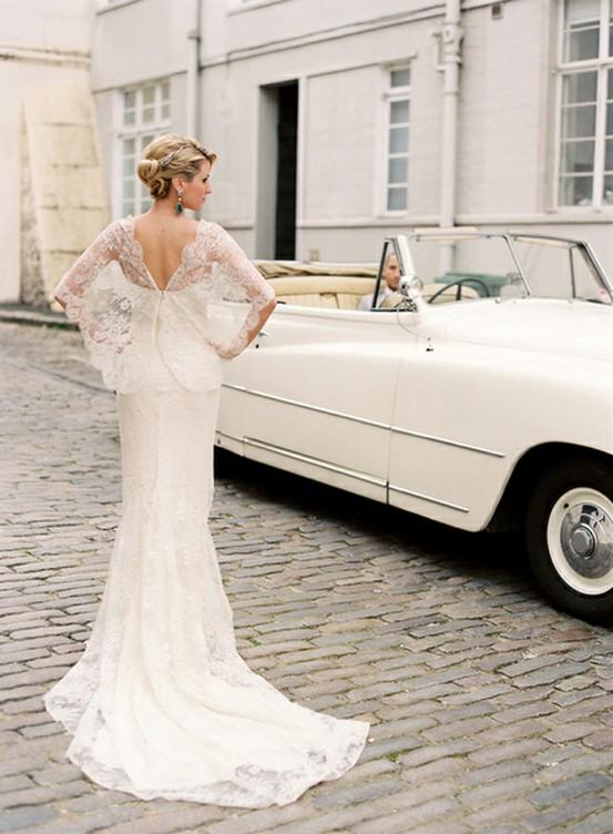 Vintage Lace Wedding Dresses Simple And Elegant Wedding Decoration