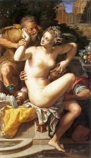 Dipinto erotico del 1561 di alessandro Allori