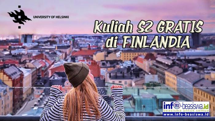 Beasiswa S2 di Universitas Helsinki, Finlandia