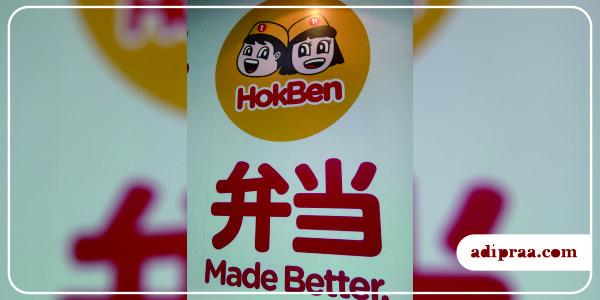 "Logo HokBen dengan tagline-nya ""Made Better"" | adipraa.com"