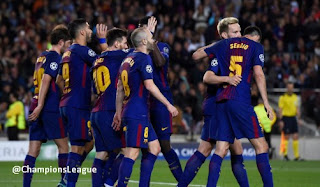 Barcelona vs AS Roma 4-1 Highlights Liga Champions