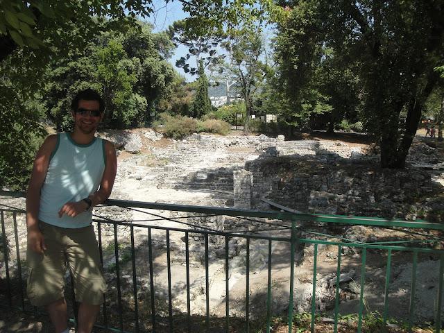 Sítio arqueológico - Colline du Chatêau - Nice - França