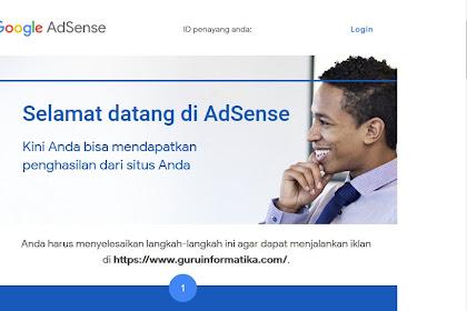 Jawaban dari Google Adsense Setelah Sebulan Mendaftar