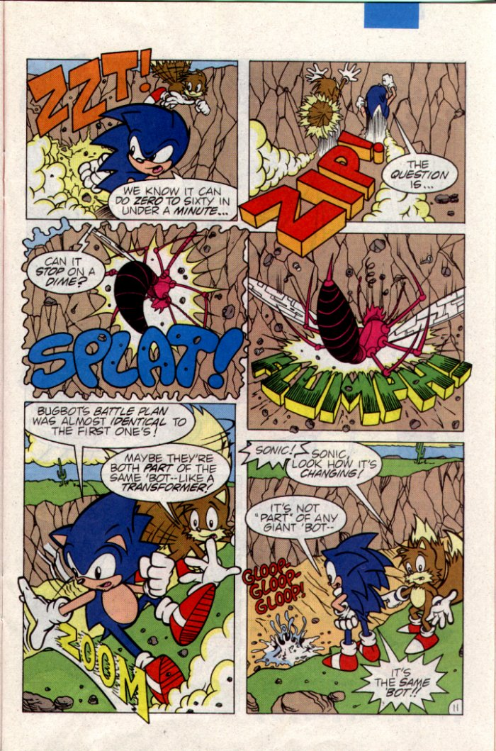 Read online Sonic The Hedgehog comic -  Issue #21 - 12