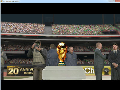 PES 2017 / PES 2016 FIFA World Cup Trophy by reza9