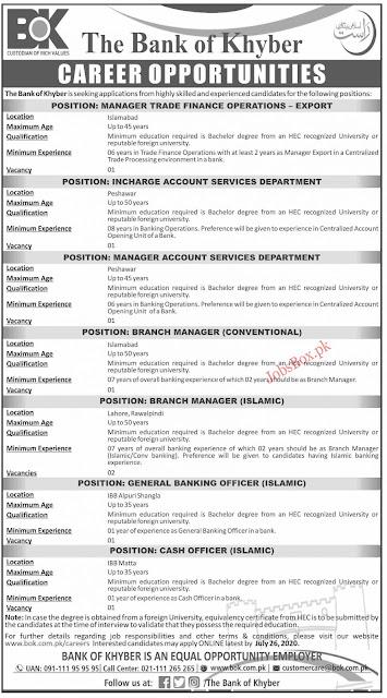 bank-of-khyber-bok-jobs-2020-apply-online-latest-advertisement