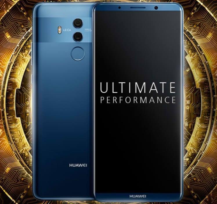 Huawei Mate 10 Pro; Octa Core Kirin 970, 6GB RAM, 128GB ROM, Dual Leica Cameras, Water Resistant