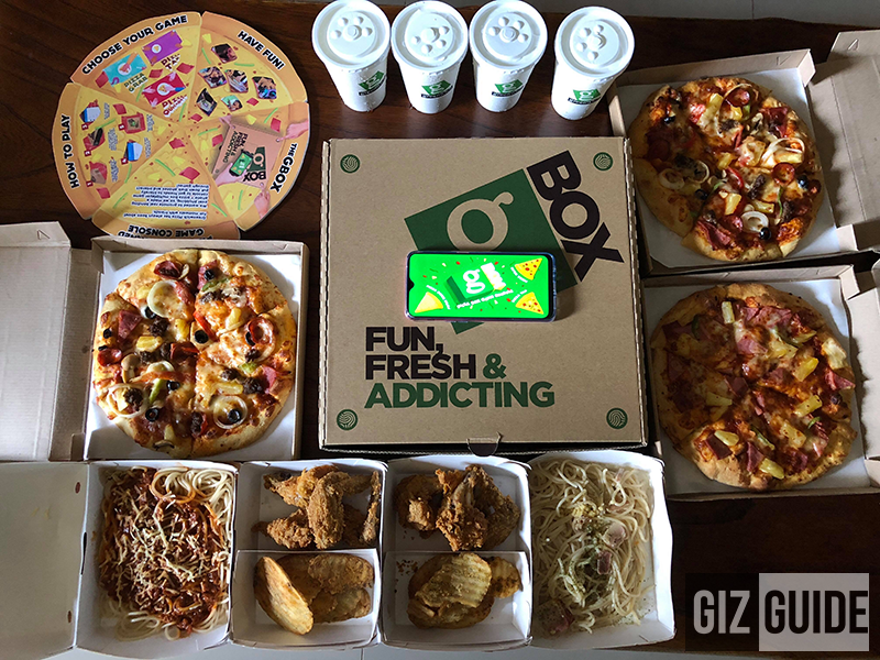 Greenwich GBox, first-ever Bluetooth-enabled gaming console pizza box!