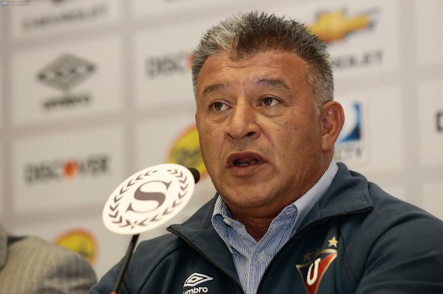 Borgui renunció a Liga de Quito