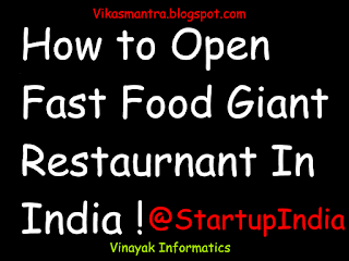 tips to open business of fast food