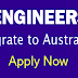 Engineers Migrate to Australia - Apply Now