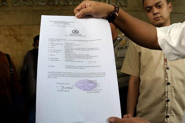 Kader Gerindra Laporkan Tiga Akun Medsos, Lantaran Tidak Terima Prabowo Difitnah