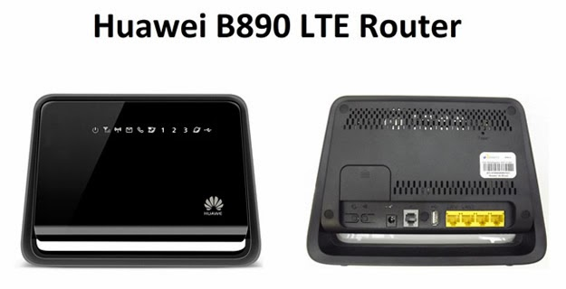 Router B890 proporcionado con los planes tarifarios
