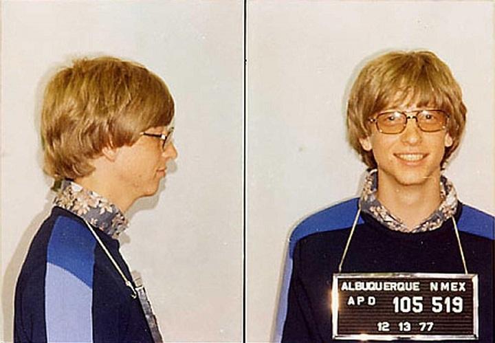 Bill gates arrested
