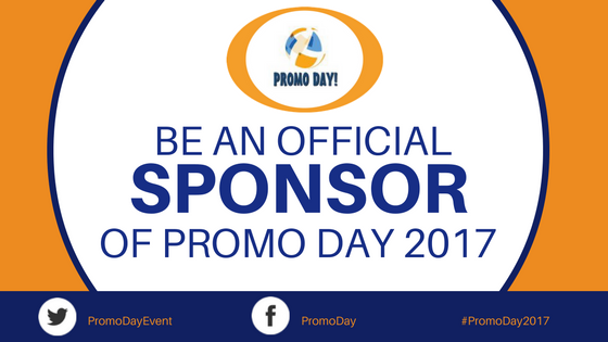 Sponsorship opportunities at Promo Day 2017.