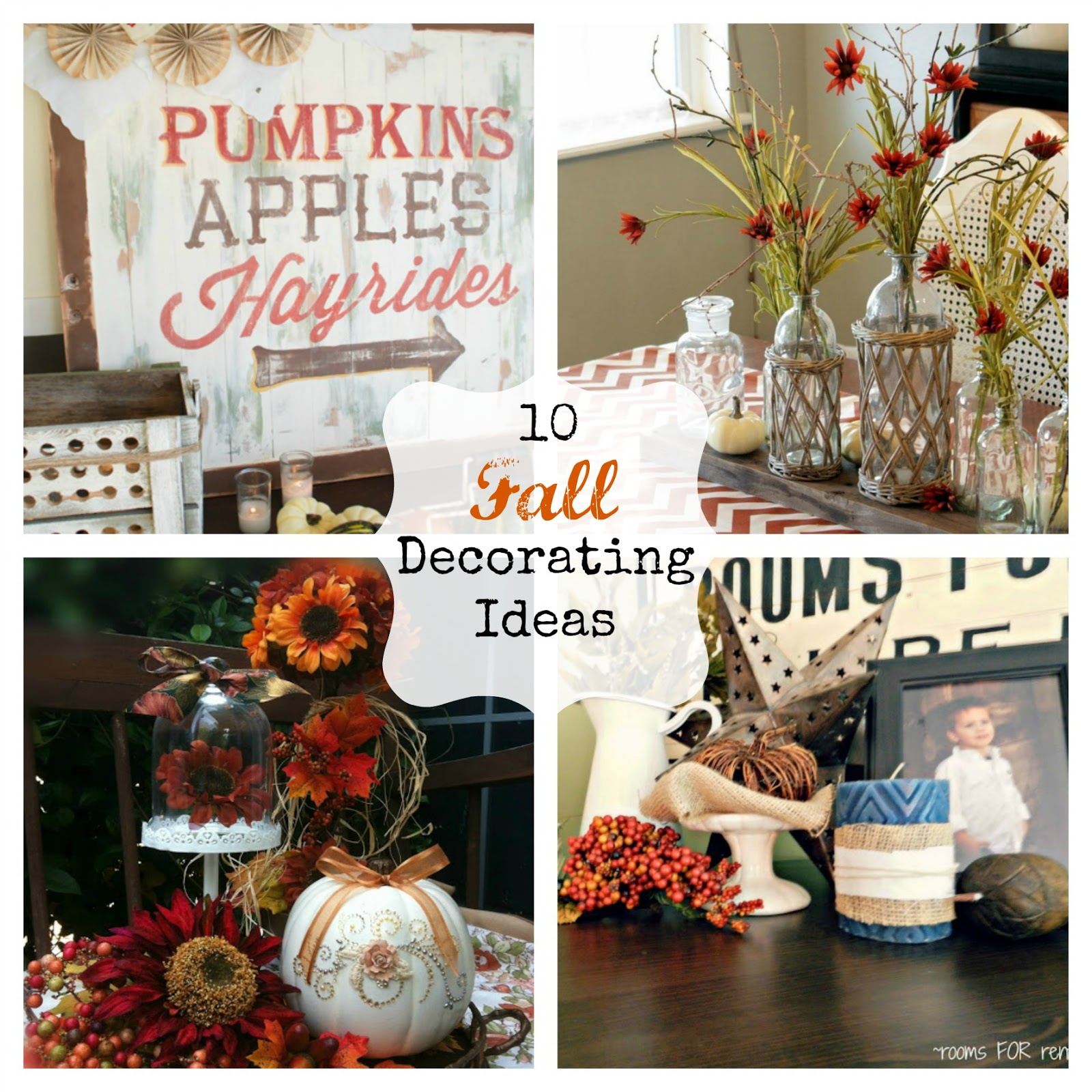 10 fall decorating ideas - Fun Home Decor Ideas