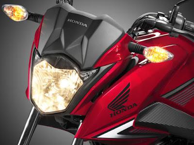 2016 HONDA CB125F headlight