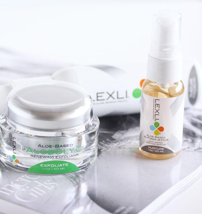Lexli Skincare, Lexli Aloe Based Skincare, Lexli AloeGlyC, Lexli Aloe Based Lightening Lift, Lexli A-Firm-Ative