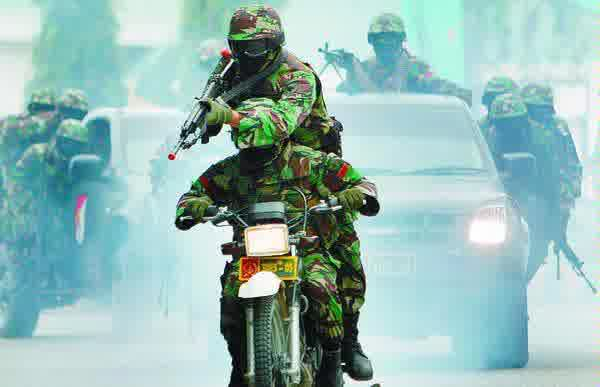 Batalyon Raider TNI Indonesia