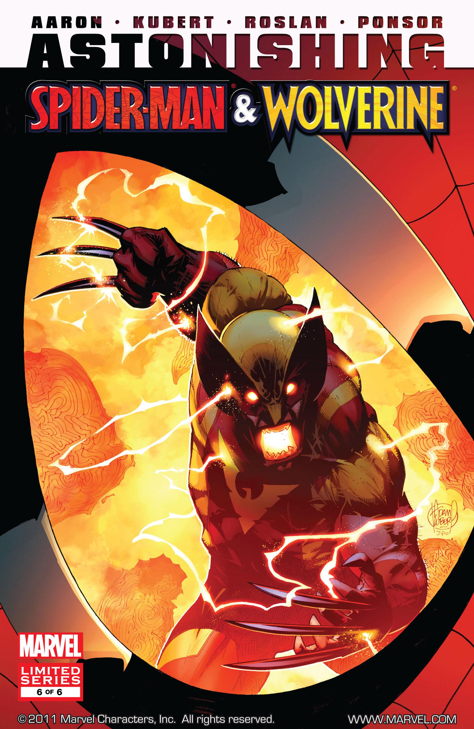 Read online Astonishing Spider-Man & Wolverine comic -  Issue #6 - 1