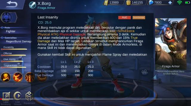 skill ultimate X.Borg ML