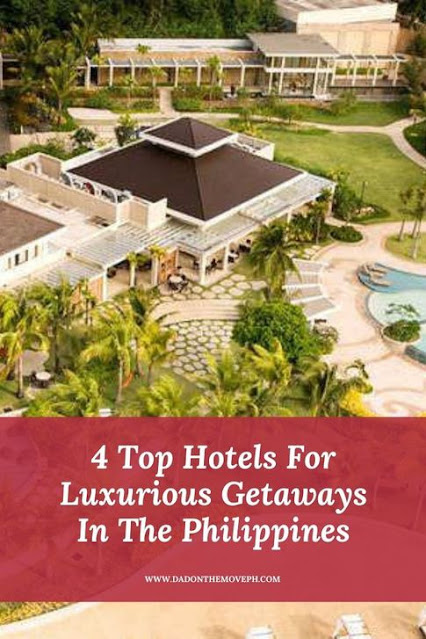 Hotels for luxurious weekend getaways around the Philippines