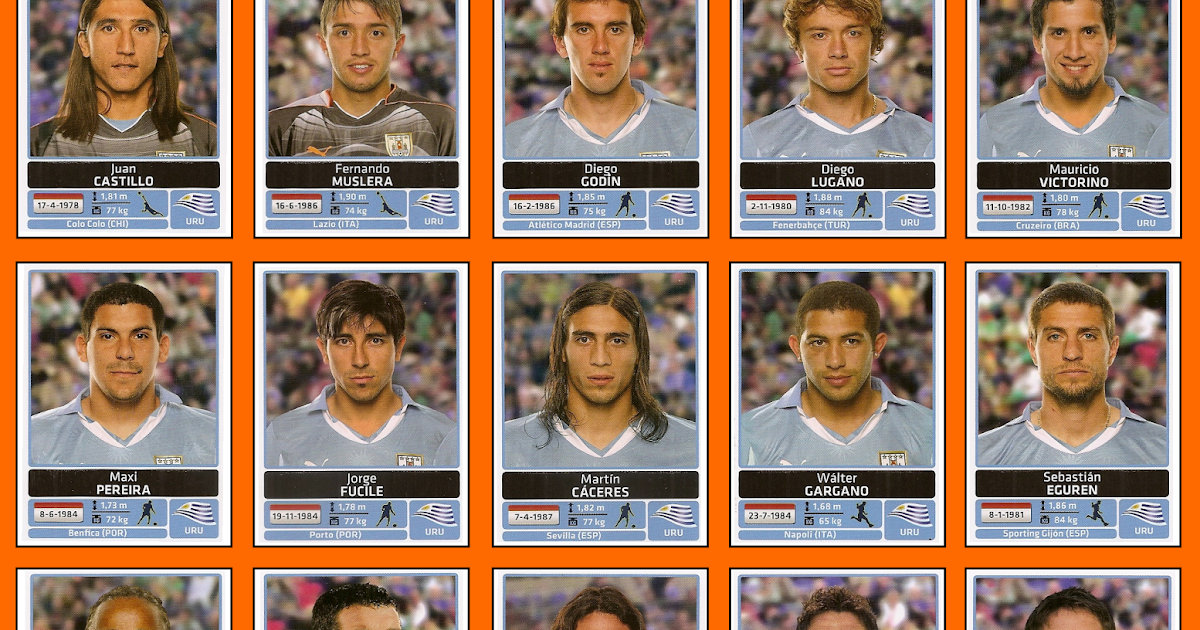 Old school panini l 39 uruguay vainqueur de la copa america 2011 - Vainqueur coupe du monde 2010 ...
