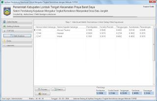 Contoh Aplikasi TOPSIS dengan Delphi