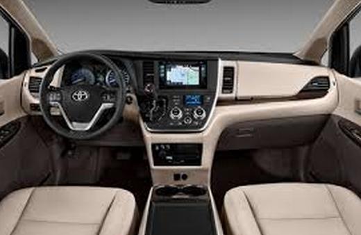 New 2017 Toyota Sienna Redesign