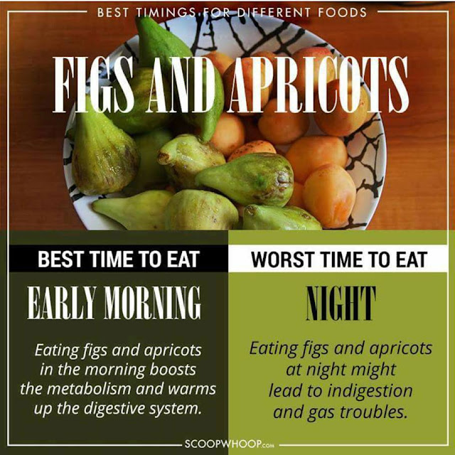FIGS AND APRICOTS - Eat Time at early MORNING