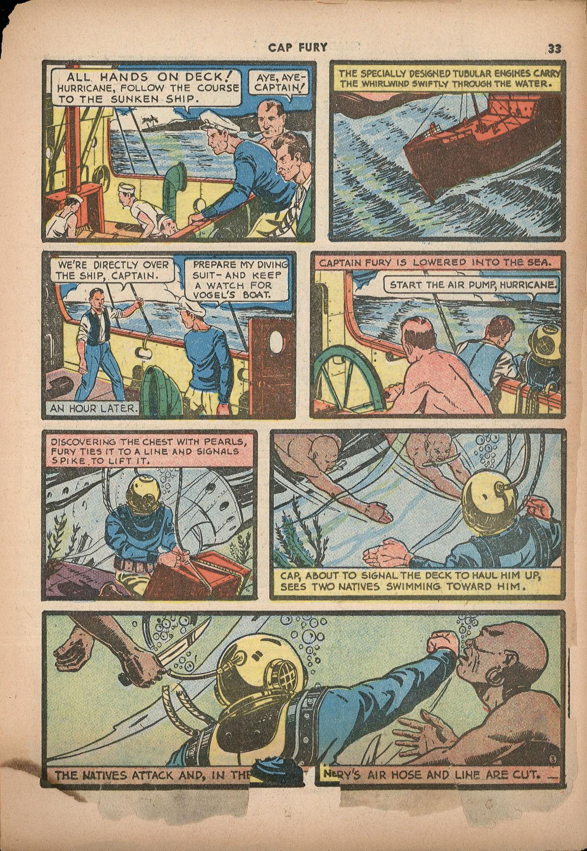 Read online Shadow Comics comic -  Issue #2 - 36