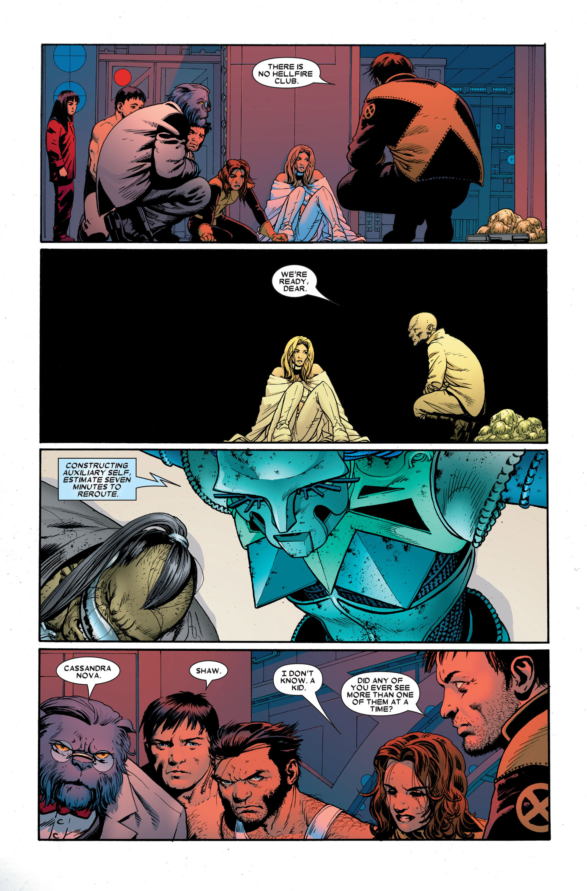 Read online Astonishing X-Men (2004) comic -  Issue #18 - 17