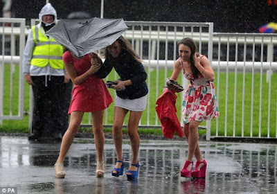 Getting Wet at Galway
