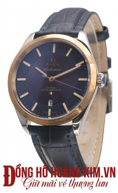 đồng hồ nam dây da omega giảm giá đẹp