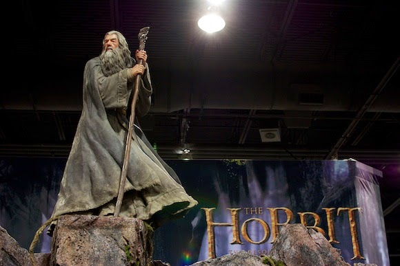 Weta's Gandalf at Denver Comic Con, 2014